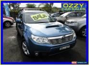2008 Subaru Forester MY09 XT Premium Blue Manual 5sp M Wagon for Sale