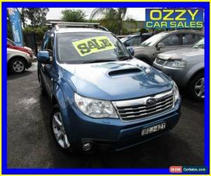 Classic 2008 Subaru Forester MY09 XT Premium Blue Manual 5sp M Wagon for Sale