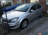 2009 VAUXHALL ASTRA GREY DIESEL 5 DOOR HATCHBACK for Sale