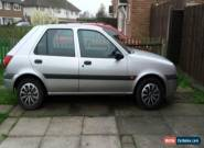 2001 FORD FIESTA LX ZETEC SILVER for Sale