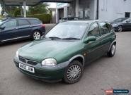 VAUXHALL CORSA 1.2 5 DR 2000 for Sale