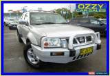 Classic 2005 Nissan Navara D22 ST-R (4x4) Silver Manual 5sp M Dual Cab Pick-up for Sale