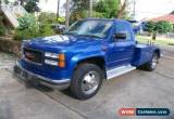 Classic 2002 Chevrolet Silverado 3500 Blue Automatic A Truck for Sale