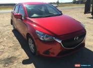 2016 MAZDA 2 NEO DL LOW KMS 3K 6SPD AUTO SEDAN LIGHT DAMAGE REPAIR CHEAP for Sale