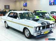 1972 Ford Falcon XY GT White Automatic 3sp A Sedan for Sale