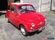 Fiat 500 1960 Model Nuovo not Alfa, BMW, Peugeot, Mercedes,Nissan,Holden or Ford for Sale