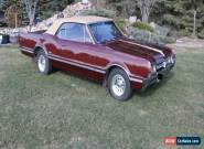 Oldsmobile: Cutlass n/a for Sale