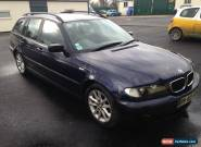 BMW 320d touring 2003 - repair or spares for Sale