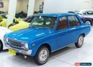 1973 Mazda 1300 Deluxe Blue Manual 4sp M Sedan for Sale