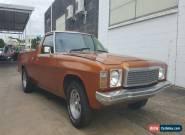 1977 Gold Holden HZ for Sale