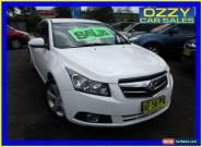 2010 Holden Cruze JG CDX White Manual 5sp M Sedan for Sale