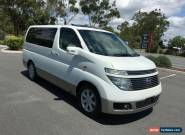 2004 Nissan Elgrand E51 XL White Automatic 5sp A Wagon for Sale