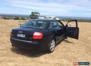 Audi A4 2002 Manual B6 Sedan 4dr 5sp 2.0i for Sale