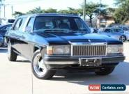 1984 Holden Statesman WB2 DE Ville Black Automatic 3sp A Sedan for Sale