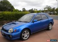 SUBARU WRX TURBO 2001 HATCH UNMODIFIED  TOP PERFORMANCE CAR REGO ROADWORTHY CERT for Sale