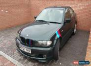 BMW 330D SPORT AUTOMATIC 4DR 2003 E46  for Sale