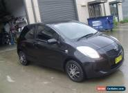 TOYOTA YARIS 07/2006 3 DOOR HATCH 5 SPEED NANUAL STEER AND AIR WITH  146500KLS  for Sale