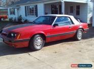 1985 Ford Mustang GT convertible for Sale
