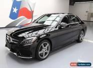 2015 Mercedes-Benz C-Class 4Matic Sedan 4-Door for Sale