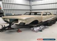 xw ford unfinished project 69 falcon shell only  for Sale