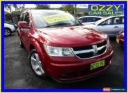2008 Dodge Journey JC R/T Red Automatic 6sp A Wagon for Sale
