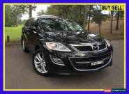 2011 Mazda CX-9 TB10A4 Luxury Black Automatic A Wagon for Sale