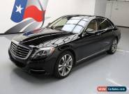 2015 Mercedes-Benz S-Class Base Sedan 4-Door for Sale