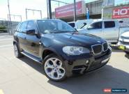 2010 BMW X5 E70 MY10 xDrive30d Black Automatic A Wagon for Sale