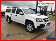 2010 Holden Colorado White Automatic A Utility for Sale