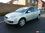 2006 FORD FOCUS GHIA 1.8 PETROL MANUAL - 5 DOOR HATCHBACK - SILVER for Sale