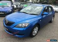 2004 Mazda 3 BK Neo Blue Automatic 4sp A Hatchback for Sale