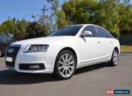 2009 Audi A6 2.0 TDI Auto WHITE Sedan - not bmw not mercedes for Sale