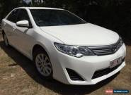 2012 Toyota Camry Altise 58,063km for Sale