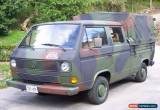 Classic Volkswagen: Bus/Vanagon Pick Up for Sale