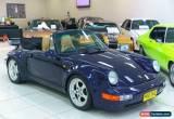Classic 1975 Porsche 911 CARRERA 3.2 Blue Manual M Cabriolet for Sale
