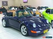 1975 Porsche 911 CARRERA 3.2 Blue Manual M Cabriolet for Sale
