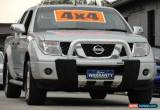 Classic 2007 Nissan Navara D40 ST-X (4x4) Silver Automatic 5sp A Dual Cab Pick-up for Sale