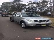 Nissan Navara King Cab 4x4 Silver 2008 Ute Manual Turbo Diesal for Sale