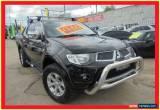 Classic 2010 Mitsubishi Triton MN MY10 GLX-R Black Automatic 5sp A Utility for Sale