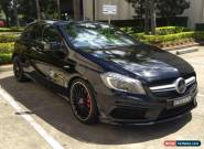 2013 MERCEDES A45 AMG BLACK UPGRADES CHEAP for Sale