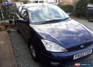 02 Ford Focus Ghia 1.8tdci spares or repair for Sale