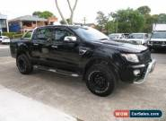 2015 Ford Ranger PX XLT 3.2 (4x4) Black Automatic 6sp A Dual Cab Utility for Sale