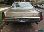 Holden HQ Statesman 350 Original Condition Monaro HJ HX HZ HG HT HT GTS  for Sale