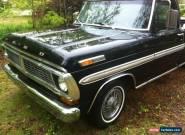 1970 Ford F-100 Base Standard Cab Pickup 2-Door for Sale