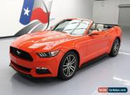 2015 Ford Mustang EcoBoost Premium Convertible 2-Door for Sale