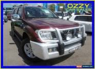 2005 Nissan Pathfinder R51 ST-L (4x4) Red Manual 6sp M Wagon for Sale
