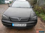 2003 VAUXHALL ASTRA SXI 16V BLACK FOR SPARES OR REPAIR for Sale