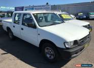 1998 Holden Rodeo TFR7 LX White Automatic 4sp A Crew Cab P/Up for Sale