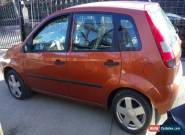 FORD FIESTA FLAME1.4 ORANGE 5DR SPARES OR REPAIRS  for Sale