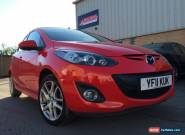 2011 MAZDA 2 SPORT RED 1.5 petrol 1 owner damaged salvage spares repair for Sale